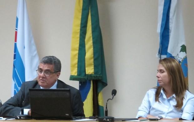Rubens Lopes e Patricia Amorim (Foto: Thales Soares/GLOBOESPORTE.COM)