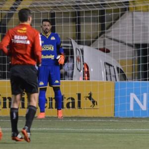 Criciúma x Operário-PR (Foto: Caio Marcelo/Criciúma EC)