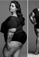 Top plus size Tess Holliday diz: 'Não há uma só maneira de ser bonita'