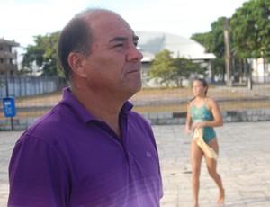 Edmundo Vergara, técnico do Grêmio Cief (Foto: Lucas Barros / Globoesporte.com/pb)