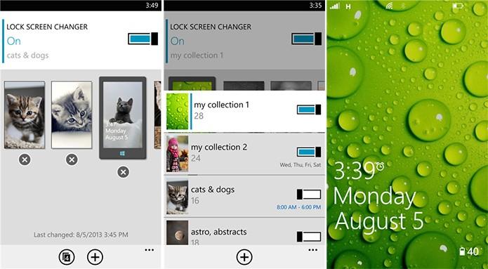 Lock Screen Changer é um aplicativo para Windows Phone para personalizar a tela de bloqueio (Foto: Divulgação/Windows Phone Store)