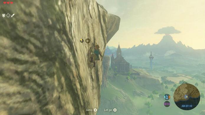 The Legend of Zelda: Breath of the Wild tem desempenho superior no Switch (Foto: Divulgação/Nintendo)