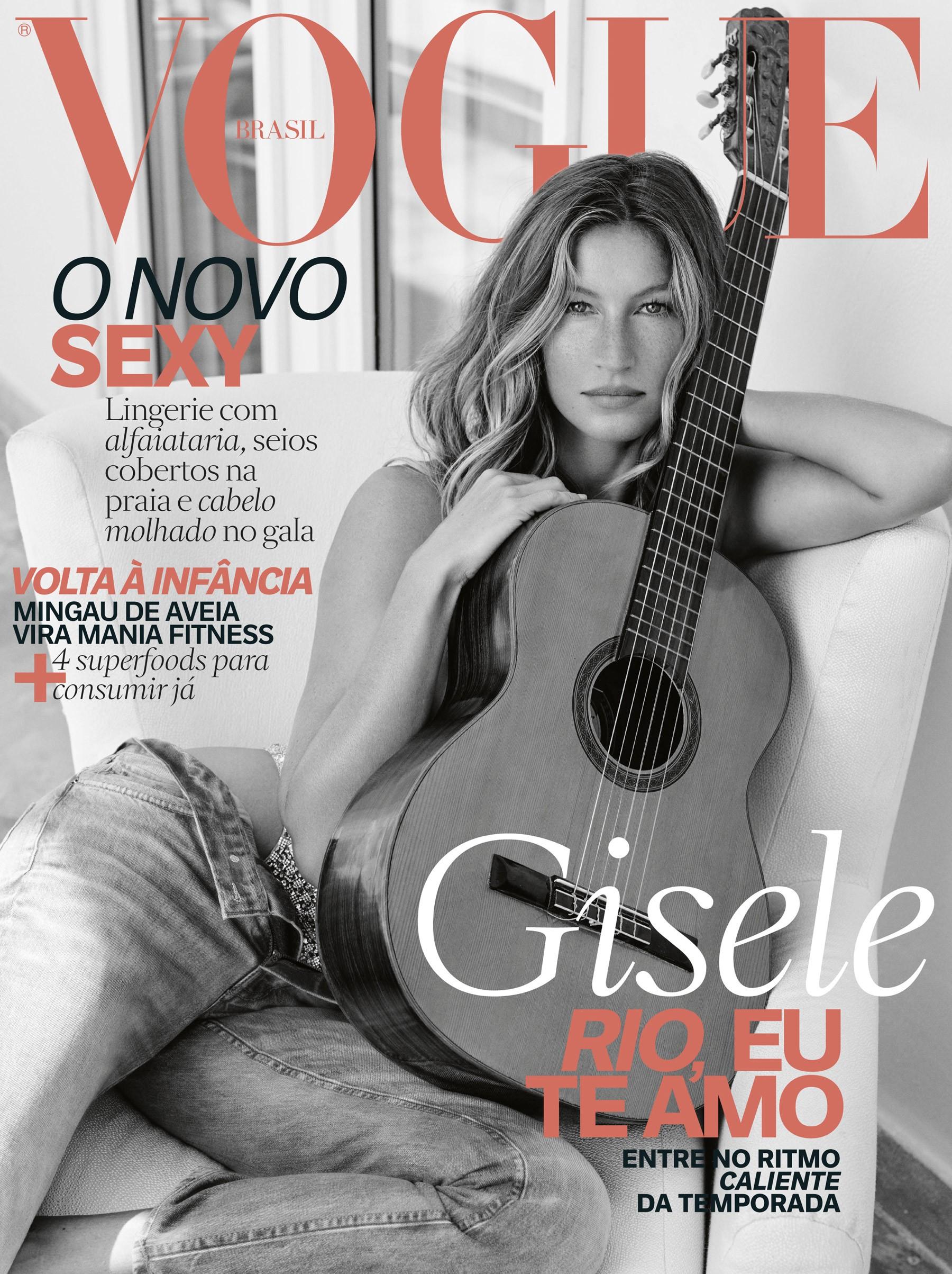 Gisele Bündchen (Foto: Vogue Brasil)
