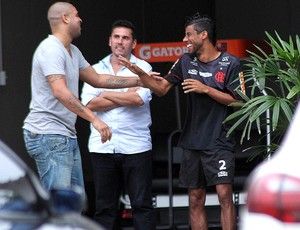 Adriano, Flamengo (Foto: Maurício Val / Vipcomm)