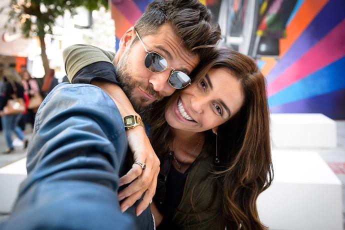Bruno Gagliasso e Giovanna Antonelli são Mario e Alice em 'Sol Nascente' (Foto: Ramón Vasconcelos/Globo)