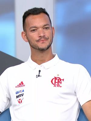 Réver, zagueiro do Flamengo (Foto: Reprodução SporTV)