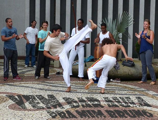 Vem dar aula pra mim, Bruno! (Foto: Malhação / TV Globo)