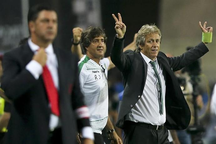 Jorge Jesus Benfica Sporting  (Foto: EFE/EPA/JOSÉ SENA GOULÃO)