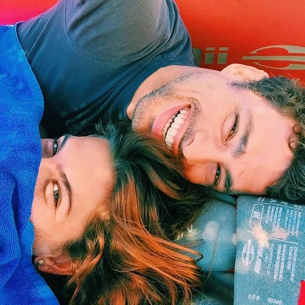 Mariana Goldfarb e Cauã Reymond (Foto: Reprodução / Instagram)