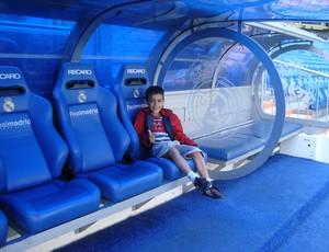 Gabriel Victor é fã de Cristiano Ronaldo e sonha em jogar no Real Madrid (Foto: Divulgação)