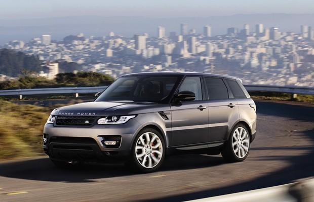 Land Rover Range Rover Sport V8 diesel (Foto: Divulgação)