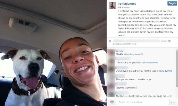 post da Germaine de Randamie (Foto: Reprodução / Instagram)