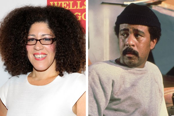 Rain Pryor e seu pai, o comediante Richard Pryor (Foto: Getty Images)