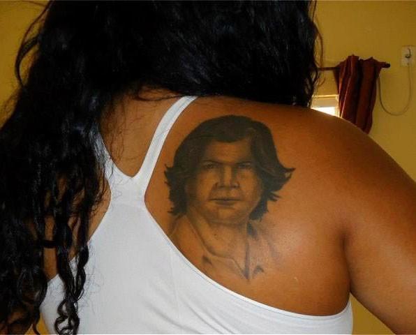 Iracilda Marins, mais conhecida como Cidinha, se autodeclara a fã que mais ama Paulo Ricardo (Foto: Arquivo pessoal)