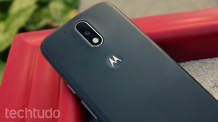 Moto G4 Plus tem câmera com resolução maior e foco mais rápido (Foto: Ana Marques/TechTudo)