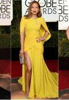 Lady Gaga é eleita pelos internautas a mais bem-vestida no Globo de Ouro