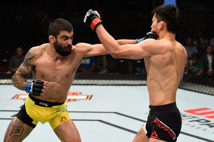 Elizeu Capoeira x Keita Nakamura UFC Portland (Foto: Getty Images)