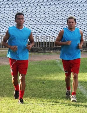 Thiago Marabá e Thiago Dias  (Foto: Assessoria RiverAC)