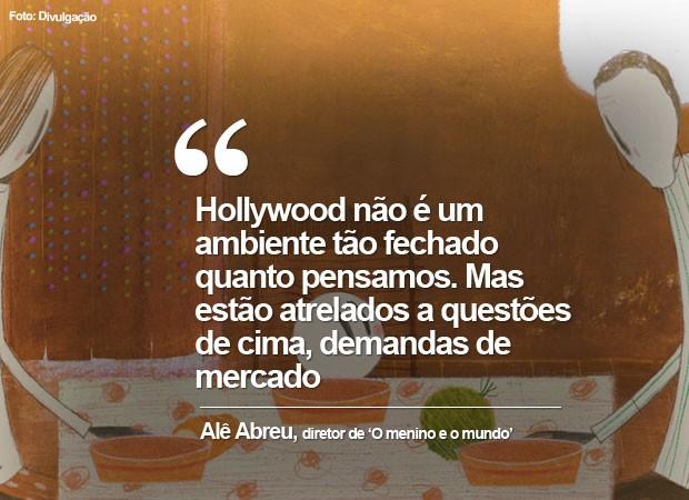 Alê Abreu, diretor de 'O menino e o mundo', indicado ao Oscar de melhor animação, fala das chances no Oscar (Foto: Divulgação)