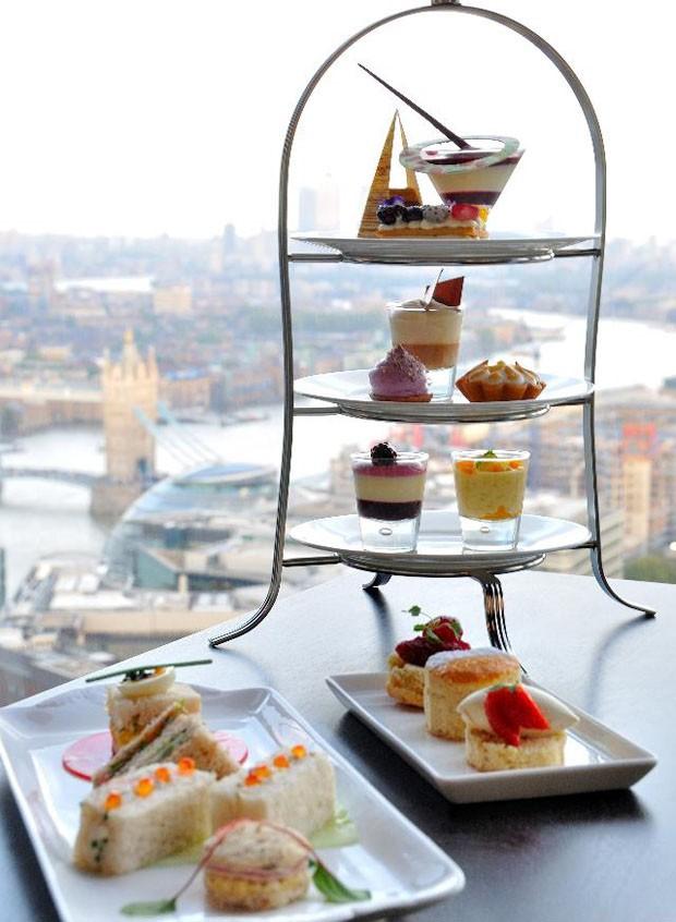 Londres para ser admirada das alturas