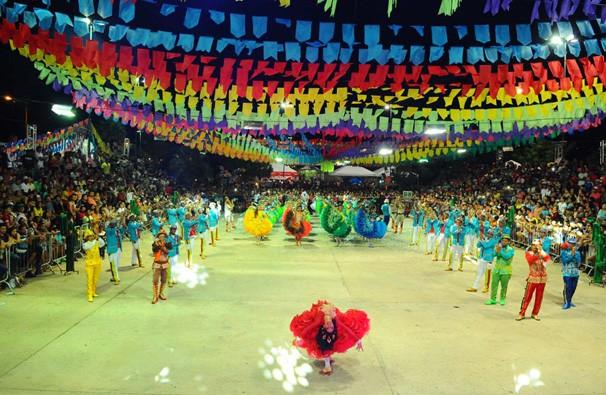 Lua de Prata deu um show de cores, brilho e criatividade (Foto: TV Clube)