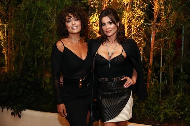 Juliana Paes e Fla´via Alessandra (Foto: Manuela Scarpa/Brazil News)