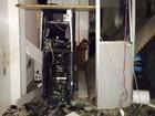 Caixa eletrônico é explodido por grupo armado em cidade da Bahia