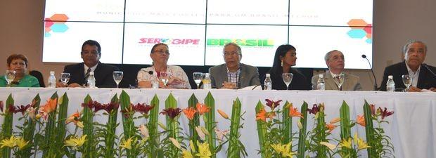 Líderes dos governos federal, estadual e municipal participaram de encontro  (Foto: Marina Fontenele/G1)