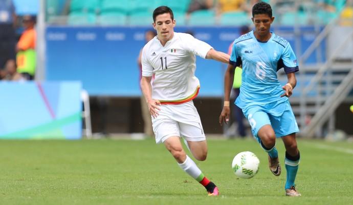 Fiji x México; olimpíadas; arena fonte nova; Anish Khem; Marcos Bueno (Foto: Cristiane Mattos/EFE)