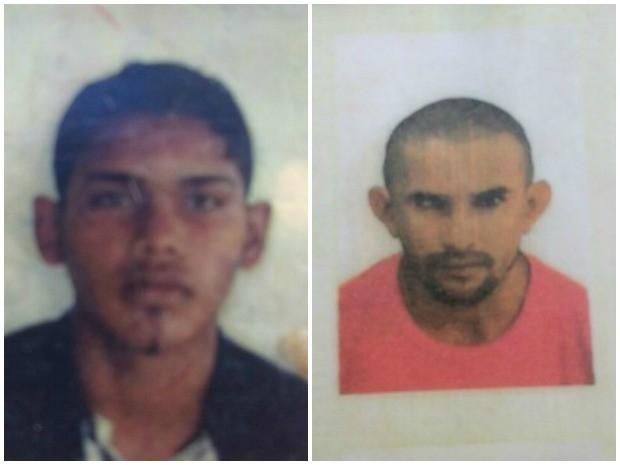 Mateus Silva de Andrade e José da Cruz Henrique dos Santos foram mortos no mês de janeiro (Foto: Arquivo da Família)