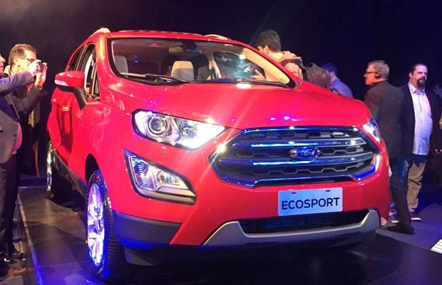 Novo Ford Ecosport é lançado na Argentina (Foto: Michelle Ferreira/Autoesporte)