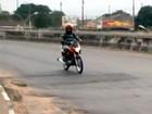Nº de acidentes com motos aumenta 21% (Reprodução/TV Subaé)