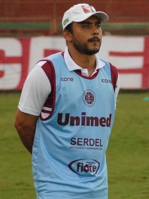 Erich Bomfim, técnico da Desportiva Ferroviária (Foto: Henrique Montovanelli/Desportiva Ferroviária)