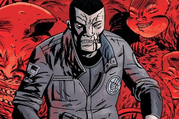 A versão do Major Ben Daimio nos quadrinhos (Foto: Divulgação)