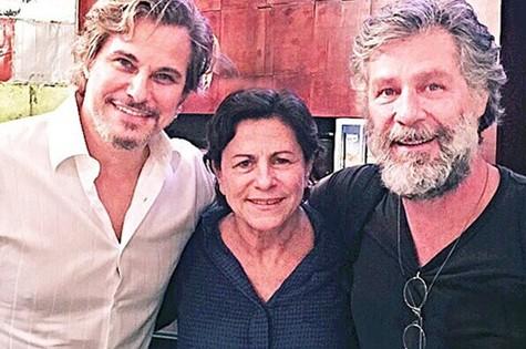 Edson Celulari, Denise Weinberg e  Leopoldo Pacheco (Foto: Divulgação)