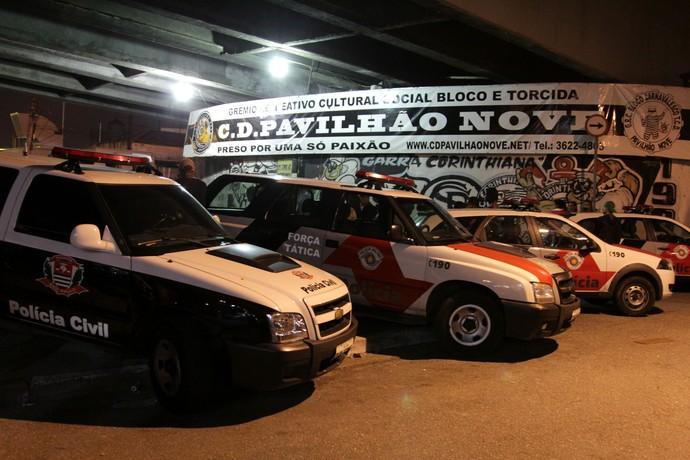 Chacina torcida organizada Corinthians (Foto: Agência Estado)