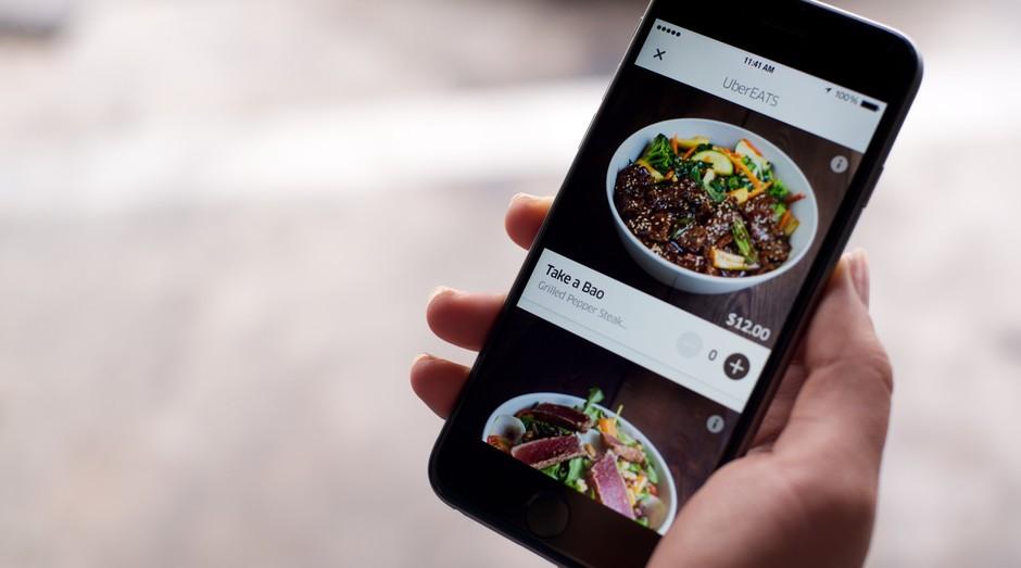 Uber eats (Foto: Divulgação)