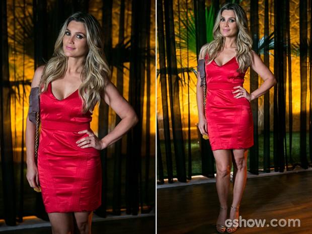 Heloísa sempre arrasou na escolha dos vestidos (Foto: Felipe Monteiro / TV Globo)