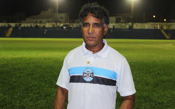 Técnico Didi (Foto: Valdivan Veloso/globoesporte.com)