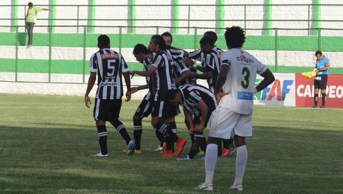 ASA vence o Murici por 2 a 0 (Foto: Leonardo Freire/GloboEsporte.com)
