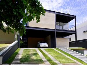 Casa em São José gera própria energia e pode ter conta de luz zerada (Foto: Arquivo Pessoal/Daniel Secches)