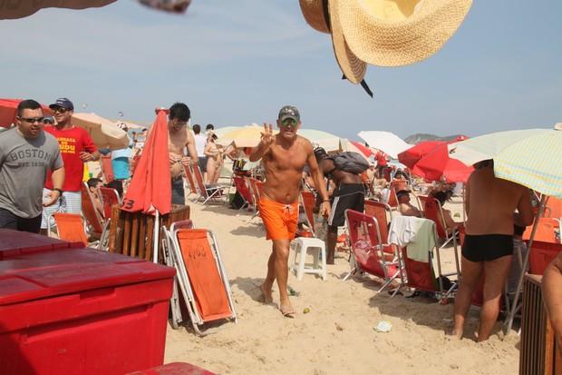 Bruce Springsteen no Rio (Foto: Gabriel Rangel/AgNews)