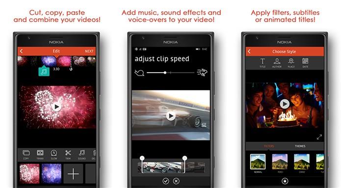 VideoShop é um editor de vídeos para Windows Phone completo e gratuito (Foto: Divulgação/Windows Phone Store)