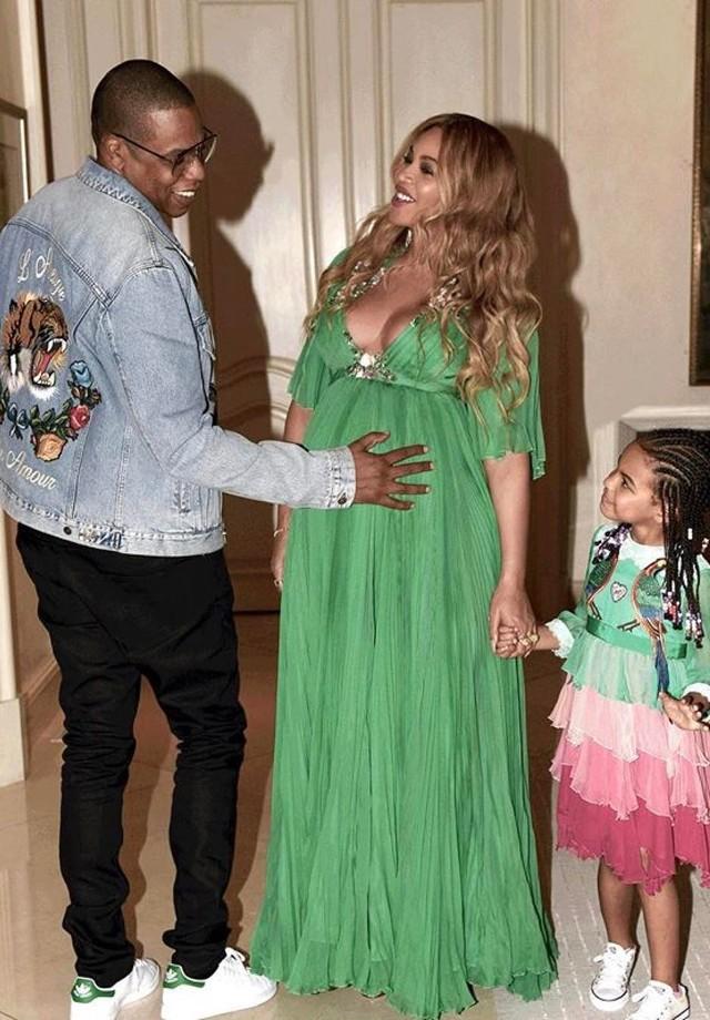 Beyoncé, Blue Ivy e Jay-Z (Foto: Reprodução/ Instagram)