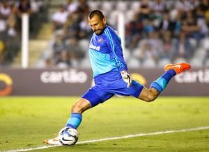 Diego Cavalieri, Santos X Fluminense (Foto: Getty Images)