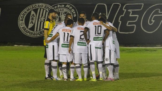 ASA, jogadores (Foto: Leonardo Freire/GloboEsporte.com)
