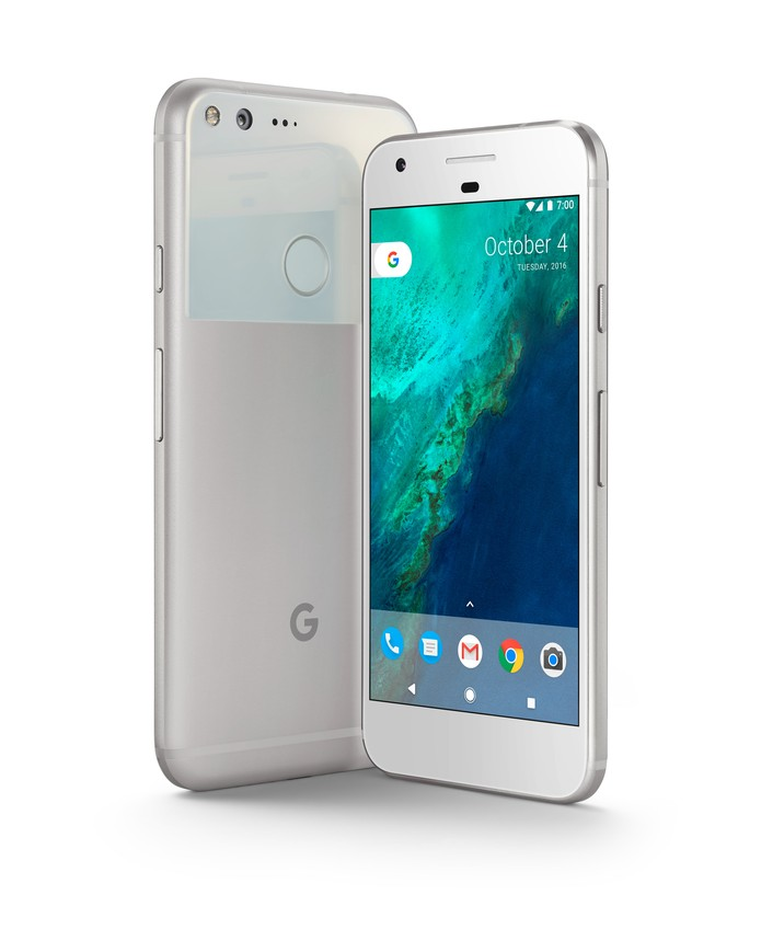 Google Pixel Silver (Foto: Divulgação/ Google)