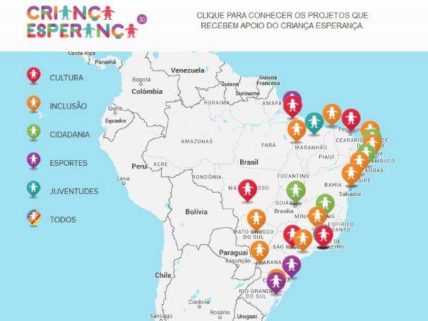 Projetos apoiados são das áreas de cultura, inclusão, cidadania, esportes e juventudes (Foto: Globo)