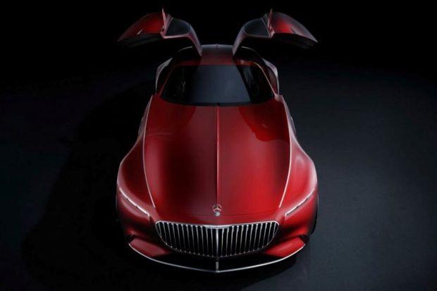 Mercedes-Maybach 6 (Foto: Reprodução/AutoExpress)