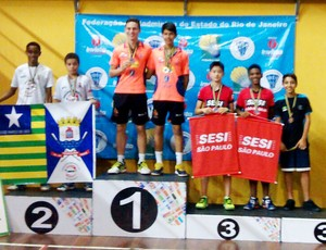 Dupla prudentina garantiu o bronze no Brasileiro (Foto: Mayara Bacarim / Arquivo Pessoal)